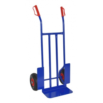 Warrior Eco 300kg Heavy Duty Sack Truck (Pneumatic Tyres) 17kg