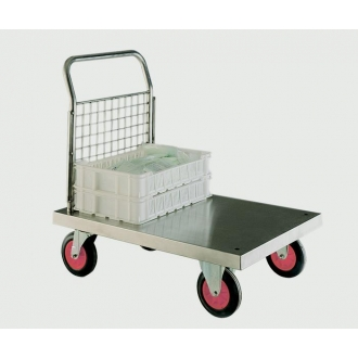 Warrior Stainless Steel Single Ended Platform Truck (B)