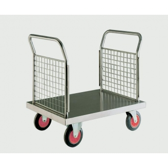 Warrior Stainless Steel Double Ended Platform Truck (B)