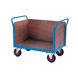 Warrior Three Sided Firm Loading Trolley (A)