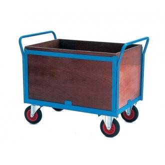 Warrior Four Sided Firm Loading Trolley (A)