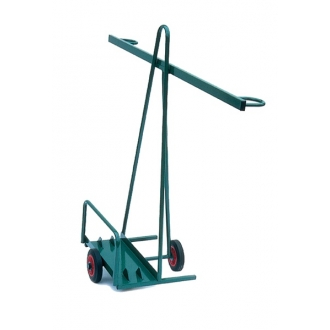 Warrior 100kg Sheet Material Trolley - Single Axle