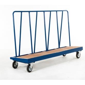 Warrior 500kg Hi-Frame Plate Truck (Plywood Deck)