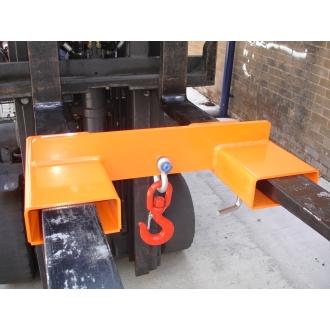 5000kg Adjustable Fork Mounted Hook