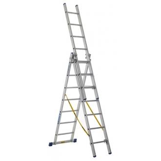 Warrior Combination Ladder (3 x 14 Rungs)