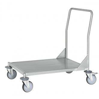 Warrior Stainless Steel Fully Welded Flat Board Trolley (KM 60360MR)
