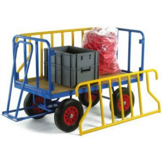 Warrior 1000kg Turntable Trailer with Tubular Support