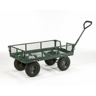 Warrior 250kg Mesh Sided Platform Truck (Garden Trollley)