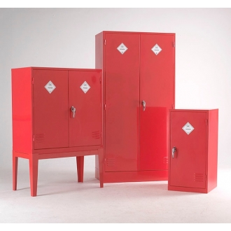 Warrior Pesticide Substance Cabinet c/w 2 Shelves