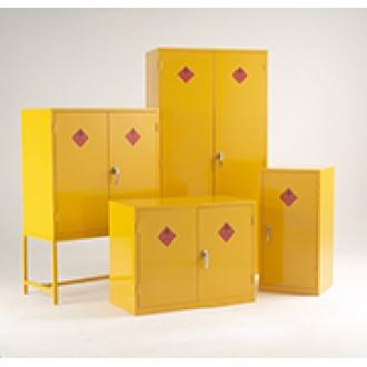 Warrior Hazardous Substance Cabinet c/w 3 Shelves