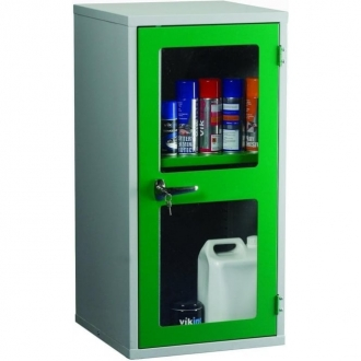 Warrior Polycarbonate Door Cabinet c/w 1 Shelf