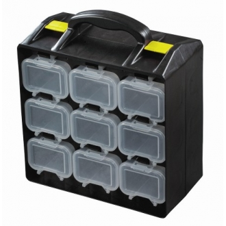 Warrior Topstore Assortment Case c/w 18 Compartments