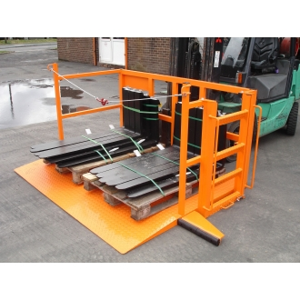 1000kg Fork Mounted Load Lifter
