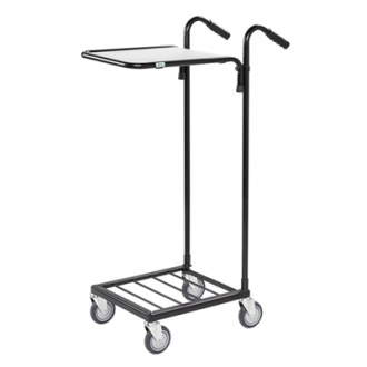 Warrior 35kg Mini Trolley c/w 1 Adjustable Shelf (Without Brakes)
