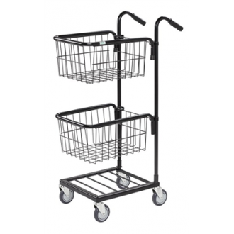 Warrior 35kg Mini Trolley c/w 2 Adjustable Thread Baskets